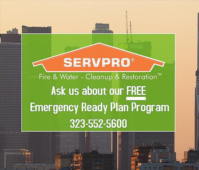 The SERVPRO Emergency Readiness Plan offered for FREE.